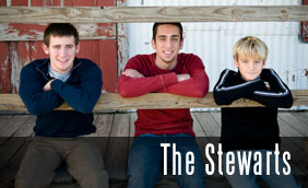 The Stewarts: Tulsa Family Photographer | Stillwater Family Photographer