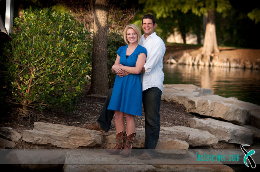 Richard + Michella :: Dallas Engagement (DBU) - #11
