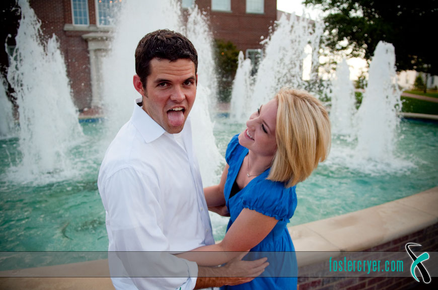 Richard + Michella :: Dallas Engagement (DBU) - #2