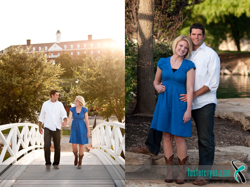 Richard + Michella :: Dallas Engagement (DBU) - #6