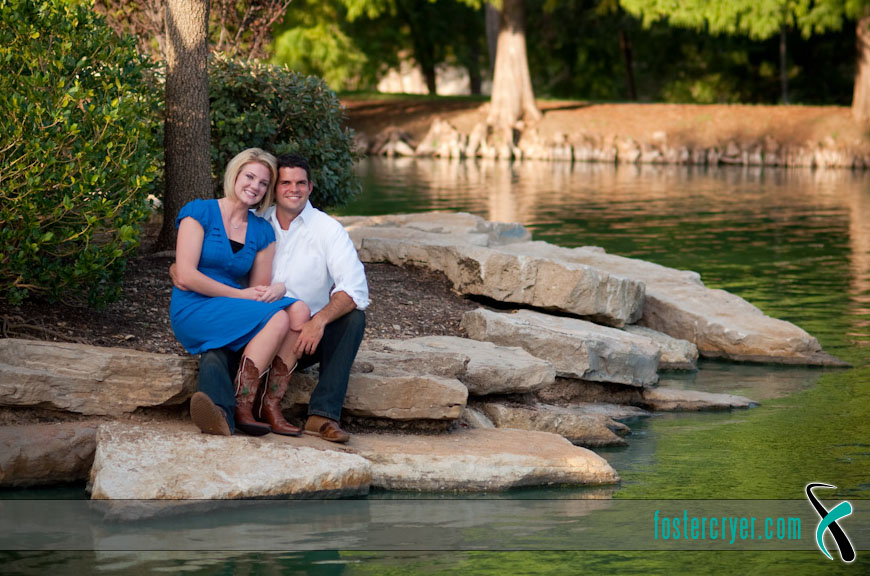 Richard + Michella :: Dallas Engagement (DBU) - #9